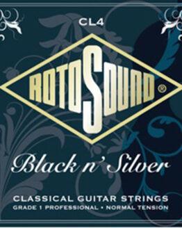 Струны для классической гитары Rotosound CL4 Black n' Silver