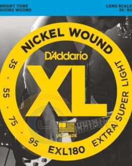 D`ADDARIO EXL180 SET BASS XL 35-95 LONG SCALE