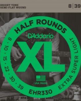 D'ADDARIO EHR330 SET GTR HALF ROUND EX SUP LITE