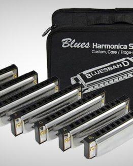 НАБОР ГУБНЫХ ГАРМОШЕК Hohner M91105 Blues Harmonica set