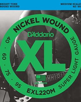 D`ADDARIO EXL220M SET BASS XL
