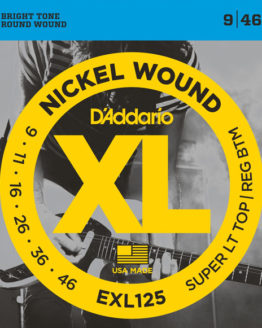 D'ADDARIO 09-46 EXL125 XL Nickel