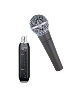 SHURE SM58-X2U XLR-USB