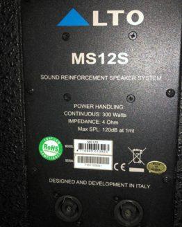 Alto MS12S