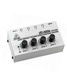 BEHRINGER HA400 MicroAmp усилитель для наушников