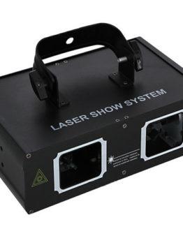 Лазерный проектор AUCD 2 Lens Professional DJ Party Show