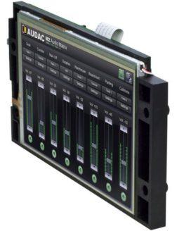 Сенсорный дисплей AUDAC M2DIS для матричного коммутатора M2