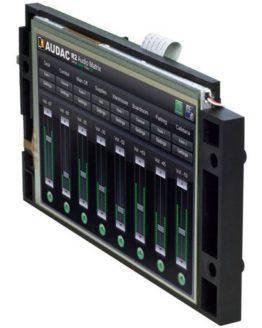Сенсорный дисплей AUDAC R2DIS для матричного коммутатора R2
