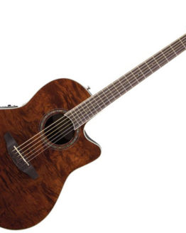 OVATION CS24P-NBM Celebrity Standard Plus Mid Cutaway Nutmeg Burled Maple