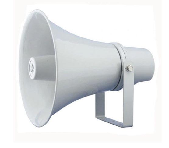 Horn Speaker 30W 100V Outdoor Speaker IP66 Waterproof