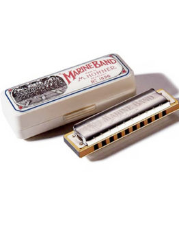 Губная гармошка Hohner M200501 Marine Band Deluxe C-major