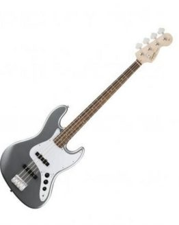 SQUIER AFFINITY JAZZ BASS LRL SLICK SILVER