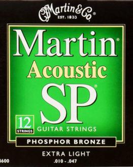 Струны для 12-струнной акустической гитары SP Acoustic 92/8 Phosphor Bronze Extra Light 12 String